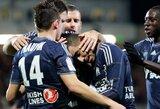 """Nuostabus A.P.Gignaco įvartis papuošė """"Marseille"""" pergalę"""