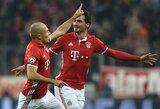 """A.Robbenas nesupranta """"Bayern"""" problemų kilmės: """"Tam nėra jokių priežasčių"""""""