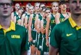 Lietuvos U16 krepšinio rinktinė sutriuškino danes