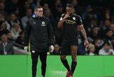 """""""Man City"""" netektis: R.Sterlingas praleis rungtynes su """"West Ham"""""""