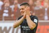 """Prie """"Real"""" prisijungęs L.Jovičius emocingai atsisveikino su """"Eintracht"""": """"Išsipildė mano svajonė"""""""