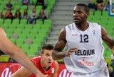 Serbijos rinktinė Belgijos krepšininkus palaužė tik rungtynių pabaigoje