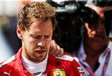 """Gandų apie ankstyvą karjeros pabaigą nekomentavęs S.Vettelis: """"Susimovėme"""""""