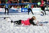 Lietuvos sniego tinklininkės Argentinoje liko devintos