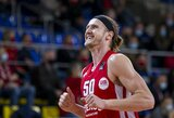 """Sausio MVP tapęs Ž.Skučas: """"Geras žaidimas prasidėjo tada, kai nustojau galvoti apie krepšinį"""""""