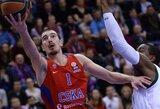 N.De Colo solo šou atnešė CSKA pergalę Vokietijoje