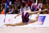 Europos jaunimo meninės gimnastikos čempionate geriausiai tarp lietuvių sekėsi V.Prončenko