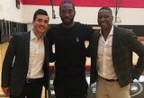 """K.Leonardas atvyko į Torontą ir susitiko su """"Raptors"""" atstovais"""