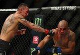 """""""UFC 218"""": M.Holloway praliejo J.Aldo kraują, antrą kartą karjeroje prieš jį pasiekė techninį nokautą ir apgynė čempiono titulą"""