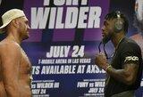 """A.Joshua palaikymo sulaukęs D.Wilderis kreipėsi į T.Fury: """"Nuo šitos kovos priklauso tavo gyvybė"""""""