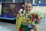 Tarptautinėse dviračių treko varžybose Panevėžyje – S.Krupeckaitės pergalė