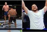 T.Tuivasa paskutinę raundo sekundę nokautavo aukščiausią visų laikų UFC kovotoją