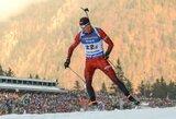K.Dombrovskis IBU taurės persekiojimo lenktynėse pagerino savo poziciją