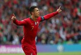 """""""Hetriką"""" pelnęs C.Ronaldo įsitvirtino kaip rezultatyviausias futbolininkas Europoje"""