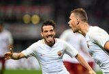 """Čempionų lyga: """"Roma"""" smaginosi su čekais, """"Bayern"""" barstė taškus"""
