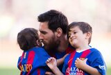 "A.Arbeloa paskatino ""Real"" prisivilioti L.Messi sūnų"