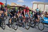 """Aštuonioliktąjį """"Vuelta a Espana"""" etapą laimėjo N.Roche'as, bendros įskaitos lyderiai finišavo kartu"""