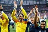 Įspūdingiausi faktai po pasaulio čempionato finalo: D.Deschampso įstojimas į elitinį klubą, jaunojo K.Mbappe pasirodymas ir kiti neeiliniai pasiekimai