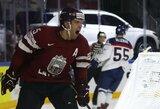 Svajonių startas: Latvijos ledo ritulio rinktinė – vienvaldė pasaulio čempionato grupės lyderė!