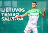 13-ą pergalę iš eilės įsirašęs L.Grigelis pateko į pusfinalį (papildyta)