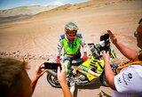 """""""Tuareg"""" ralis: A.Gelažninkas laimėjo antrąjį etapą ir pakilo į viršų bendroje įskaitoje"""