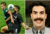"""Rusų komentatoriaus akcentas prajuokino internautus: """"Čia komentuoja Boratas?"""""""