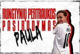 Futbolo šventė Marijampolėje: per rungtynių pertrauką – Paulos pasirodymas, prieš rungtynes – konkursai