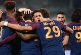 """PSG Prancūzijoje pelnė septynis įvarčius į """"Monaco"""" vartus ir tapo Prancūzijos čempionais"""
