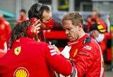 """S.Vettelis apie """"Ferrari"""" košmarą Belgijoje: """"Kažkas čia neaišku"""""""