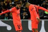 """Neymaras apie santykius su K.Mbappe: """"Tarp mūsų neegzistuoja jokia konkurencija"""""""