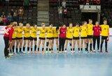 Nukeliamos moterų pasaulio rankinio čempionato atrankos varžybos