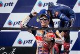 M.Marquezas išplėšė pergalę Tailande ir kitame etape galės užsitikrinti čempiono titulą