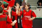 M.Kalnietis ir S.Jasaitis prie Krasnodaro klubo pergalės prisidėjo 41 tašku