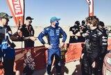 "V.Žalą partempęs B.Vanagas pramušė du ratus: ""Šiandien Dakaras buvo visomis įmanomomis prasmėmis"""