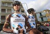 G.Bagdono komandos draugais bus septynių šalių dviratininkai