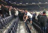 """""""Tottenham Hotspur"""" gynėjas po rungtynių nusprendė išsiaiškinti santykius su sirgaliumi"""