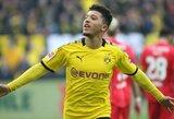 """J.Sancho, T.Hazardas ir dar 4 """"Borussia"""" žaidėjai dėl naujos šukuosenos pažeidė karantino taisykles"""