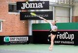 P.Bakaitė iškovojo pirmą pergalę Lietuvos moterų teniso rinktinei