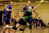 Lietuvos moterų rankinio lygoje čempionės prarado tašką sostinėje