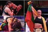 """Kruviną kovą dėl """"Invicta"""" čempionės diržo laimėjusi J.Stoliarenko: """"Varžovė mane prisimins kiekvieną kartą pažvelgusi į veidrodį"""""""