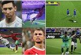 """Fanus pašiurpino naujausias """"Konami"""" futbolo žaidimas: C.Ronaldo ir L.Messi visiškai nepanašūs į save"""