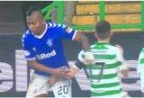 """Varžovui už tarpkojo griebusiam """"Celtic"""" žaidėjui gresia bausmė"""