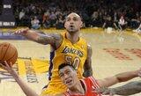 """M.D'Antoni: Sacre – ko gero, geriausiai besiginantis """"Lakers"""" žaidėjas"""