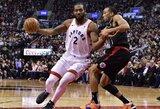"""""""Raptors"""" įveikė tik du tritaškius pataikiusią """"Clippers"""""""