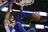 Paskelbti NBA mėnesio naujokai