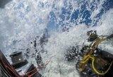 """""""Ambersail 2"""" pagerino lenktynių rekordą, tačiau konkurentai iš """"Volvo Ocean Race"""" buvo dar greitesni"""