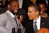 D.Sterlingo pareiškimus pasmerkė svarbiausi NBA asmenys ir JAV prezidentas