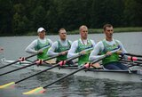 Pasaulio irklavimo čempionato atrankoje – Lietuvos keturvietininkų pergalė