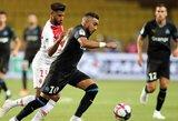 """""""Marseille"""" rungtynių pabaigoje išplėšė pergalę prieš """"Monaco"""" komandą"""