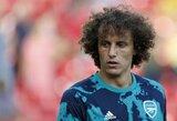 """D.Luizas atskleidė, ką """"Arsenal"""" futbolininkams reikia tobulinti labiausiai"""